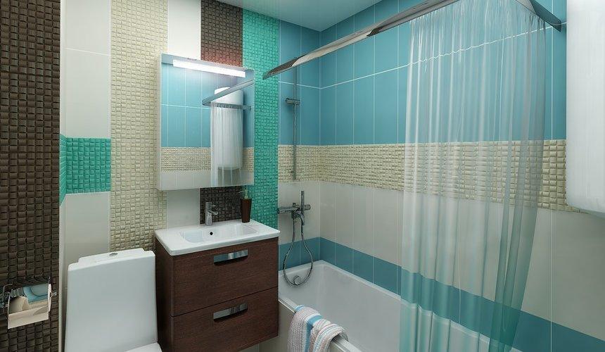 Дизайн интерьера ванной комнаты по ул. Фурманова 48 3