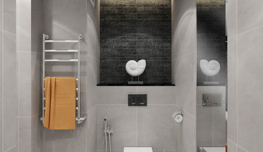 Дизайн интерьера двухкомнатной квартиры в ЖК Крылов 25