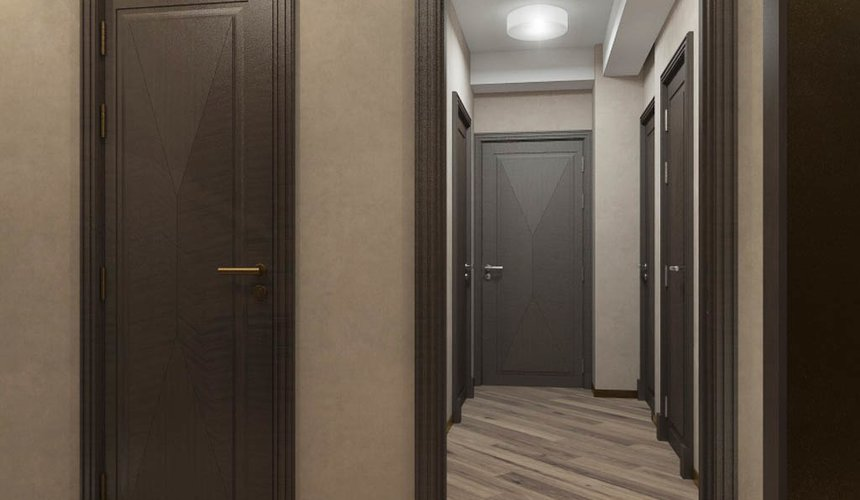 Дизайн интерьера и ремонт трехкомнатной квартиры по ул. Кузнечная 81 88