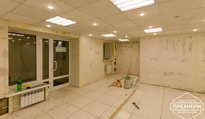 Дизайн интерьера и ремонт офиса по ул. Шаумяна 93 11