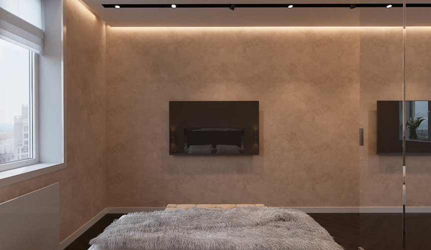 Дизайн интерьера однокомнатной квартиры в ЖК Крылов (2 очередь) 10