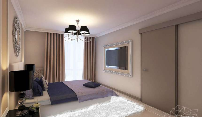 Дизайн интерьера двухкомнатной квартиры в Верхней Пышме по Успенскому проспекту 113Б 13