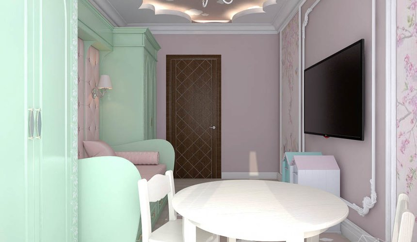 Дизайн интерьера трехкомнатной квартиры по ул. Фурманова 124 21