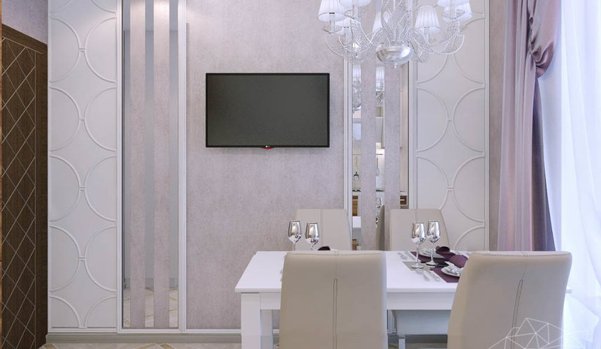 Дизайн интерьера трехкомнатной квартиры по ул. Фурманова 124 15