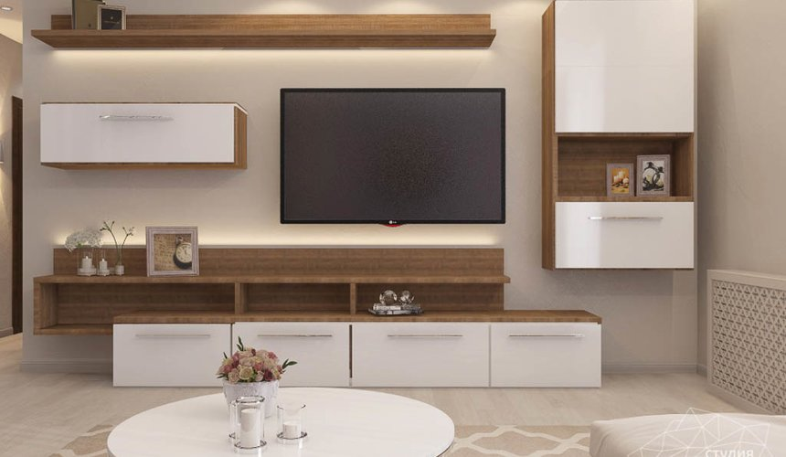 Дизайн интерьера трехкомнатной квартиры по ул. Фурманова 124 7