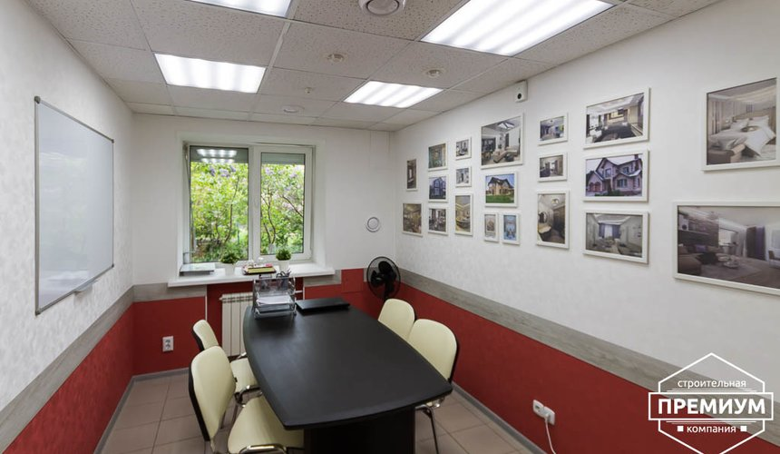 Дизайн интерьера и ремонт офиса по ул. Шаумяна 93 12