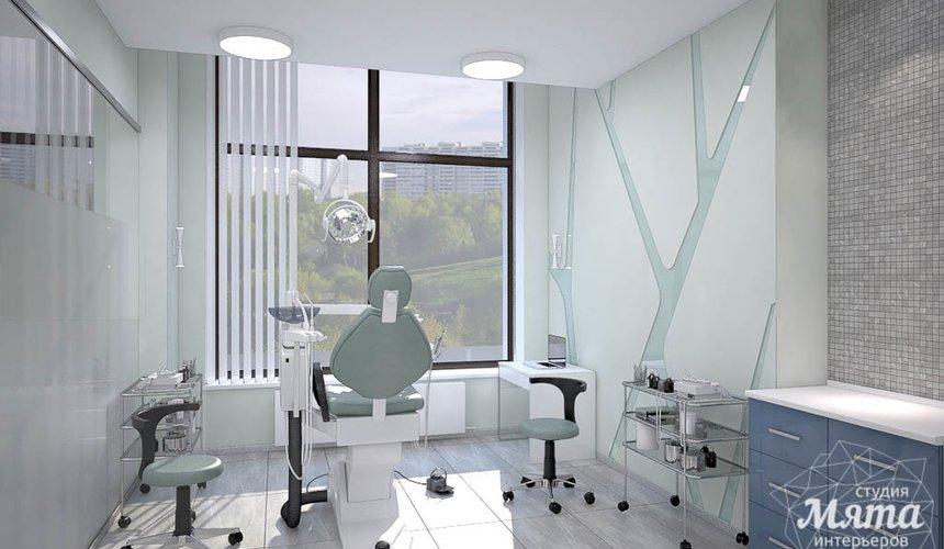 Дизайн интерьера и ремонт стоматологической клиники в ЖК Лига Чемпионов 15