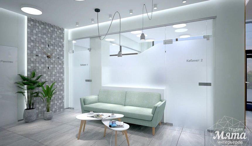 Дизайн интерьера и ремонт стоматологической клиники в ЖК Лига Чемпионов 32
