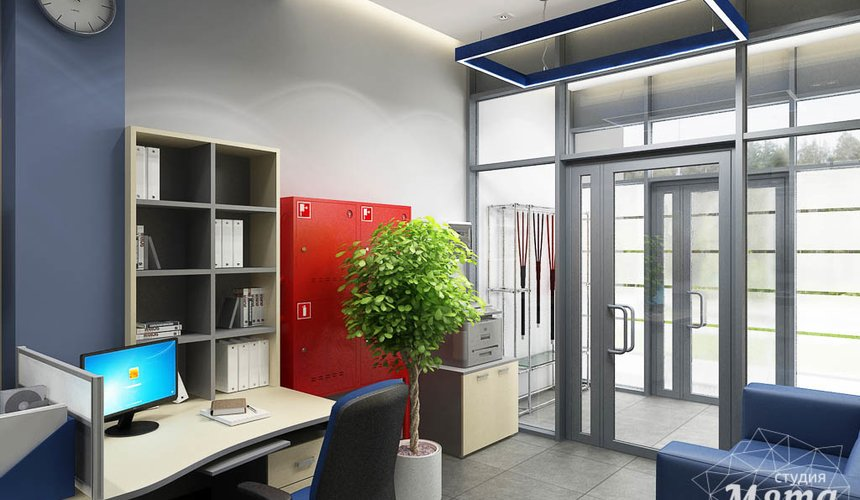 Дизайн интерьера офиса по ул. Чкалова 231 5