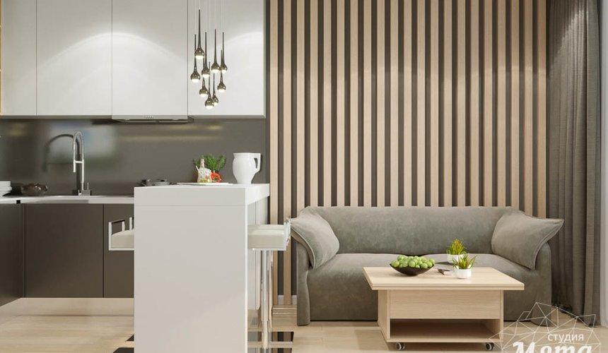 Дизайн интерьера однокомнатной квартиры по ул. Ак. Семихатова 18 4