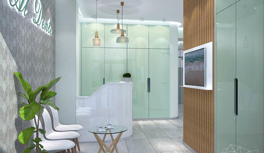Дизайн интерьера и ремонт стоматологической клиники в ЖК Лига Чемпионов 28