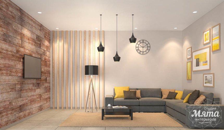 Дизайн интерьера коттеджа в п. Алые Паруса 5