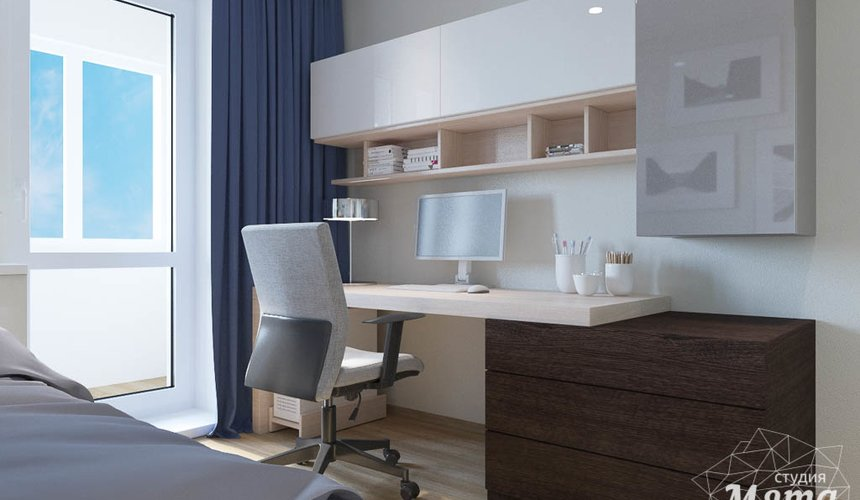 Дизайн интерьера трехкомнатной квартиры по ул. Куйбышева 102 12