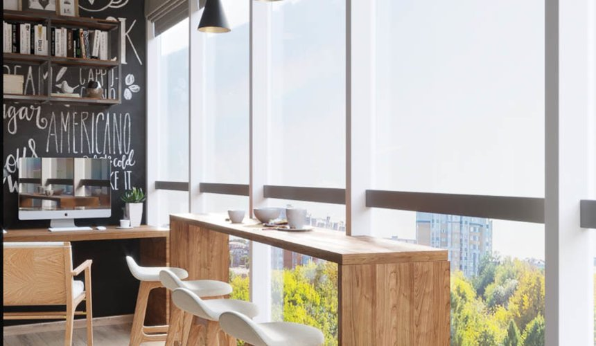 Дизайн интерьера однокомнатной квартиры в ЖК Чемпион Парк 8