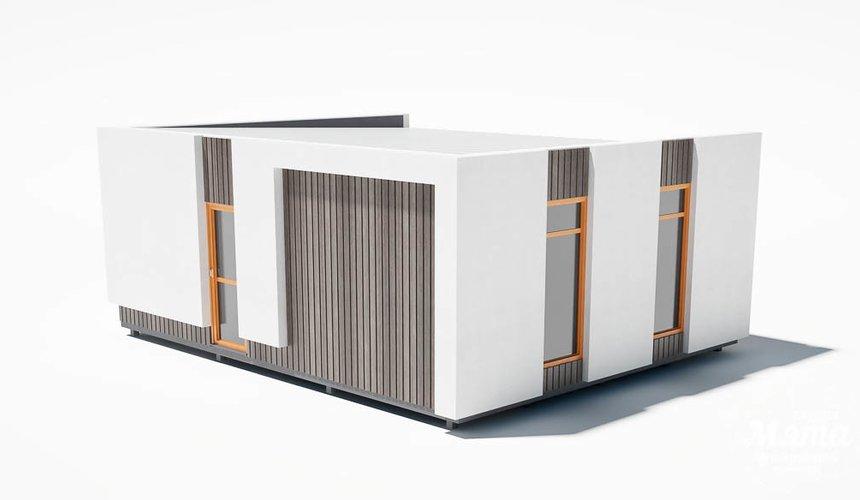 Дизайн фасада модульного дома в п. Новое Созвездие 5