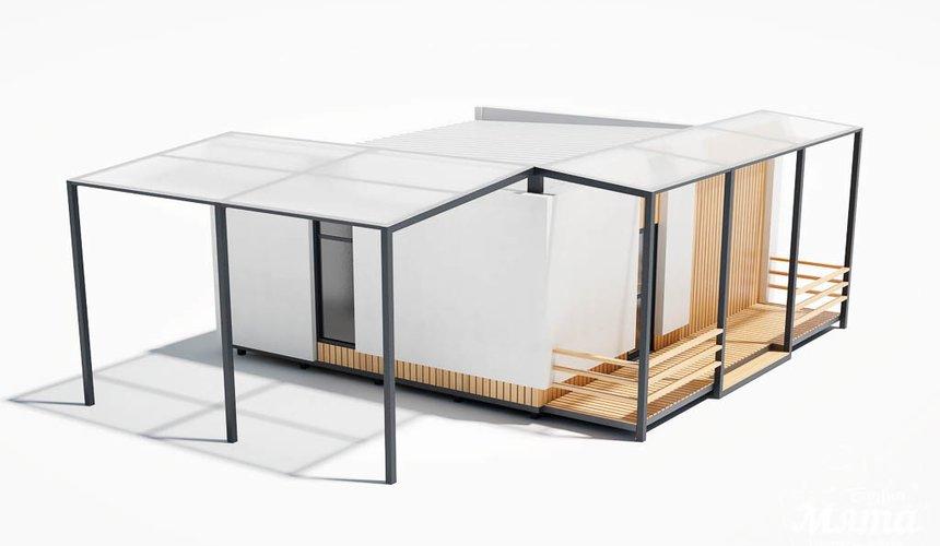 Дизайн фасада модульного дома в п. Новое Созвездие 9