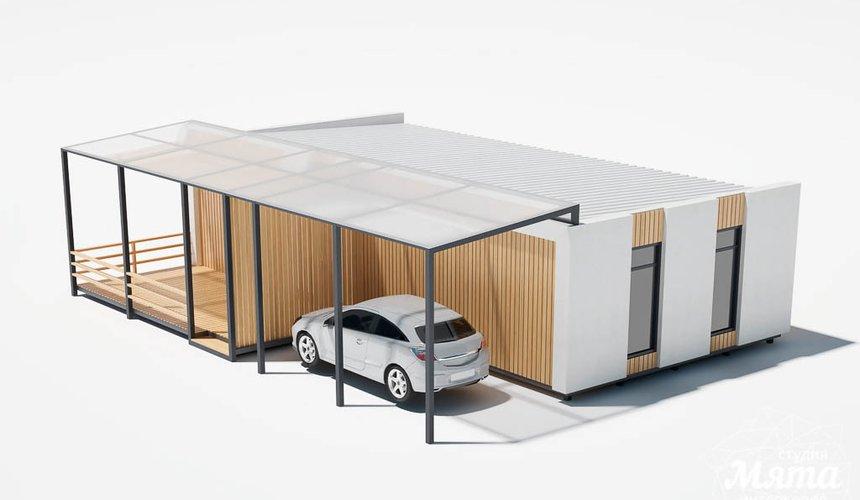 Дизайн фасада модульного дома в п. Новое Созвездие 10