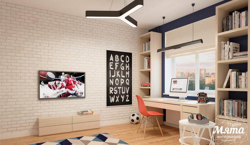 Дизайн интерьера детской комнаты в ЖК Антарес 5