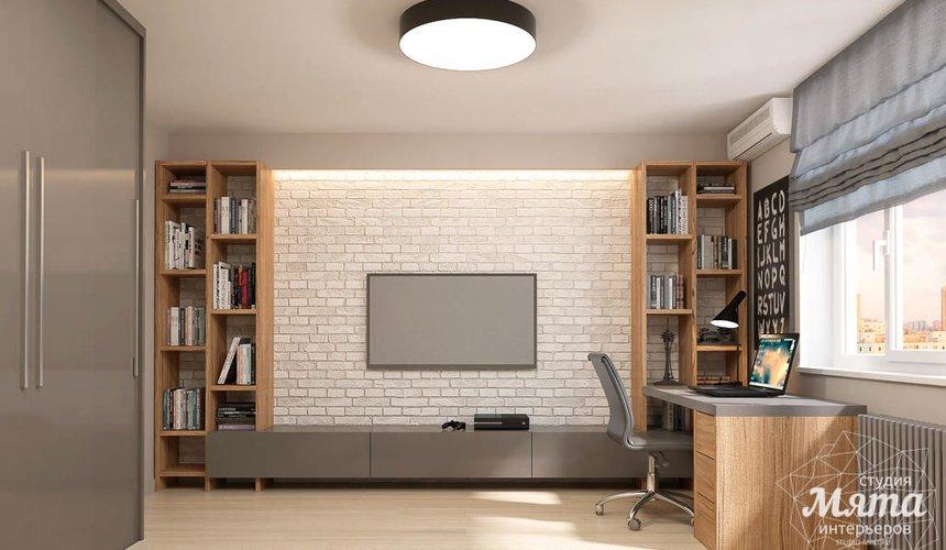 Дизайн интерьера трехкомнатной квартиры в ЖК Малевич 8