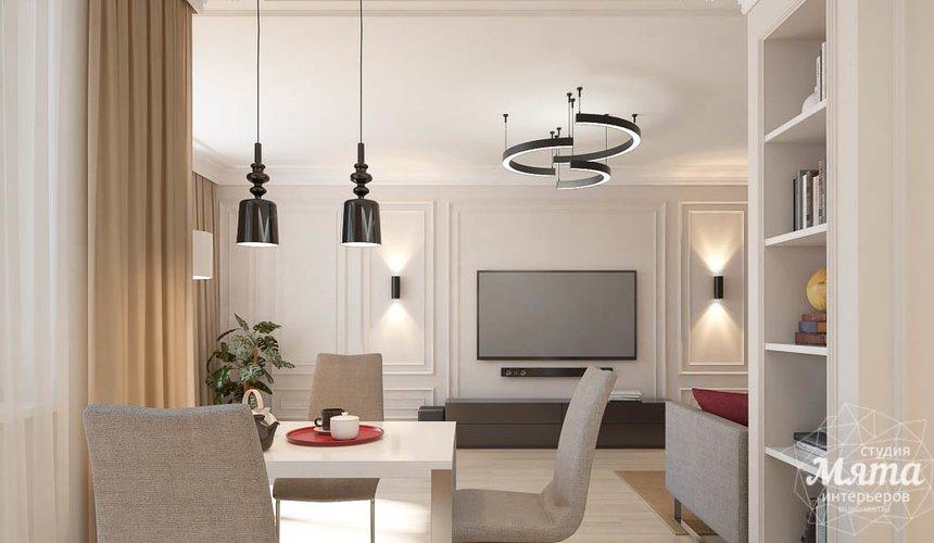 Дизайн интерьера трехкомнатной квартиры в ЖК Малевич 4