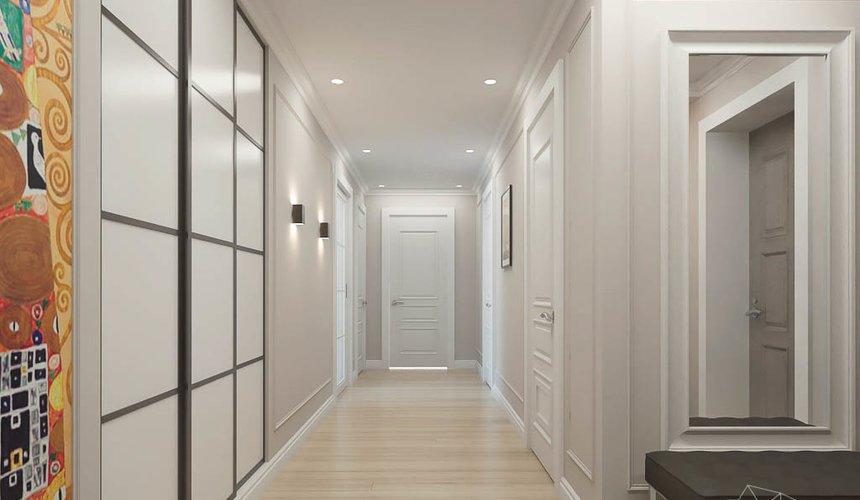 Дизайн интерьера трехкомнатной квартиры в ЖК Малевич 11