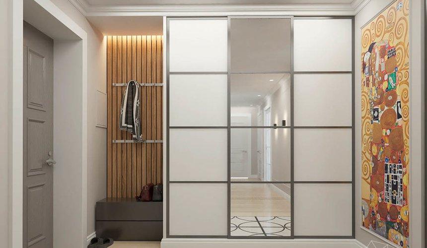 Дизайн интерьера трехкомнатной квартиры в ЖК Малевич 12