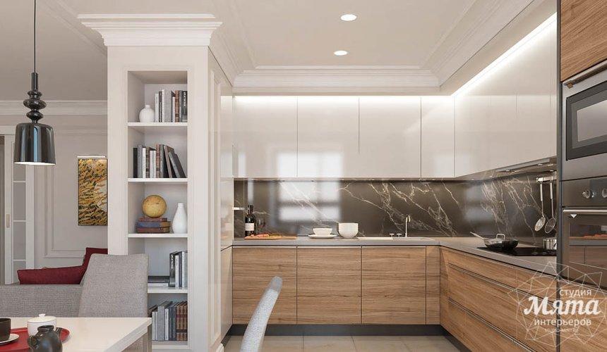 Дизайн интерьера трехкомнатной квартиры в ЖК Малевич 5