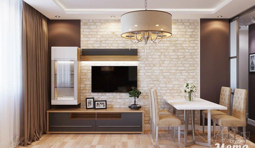 Дизайн интерьера трехкомнатной квартиры по ул. Фурманова 103 2