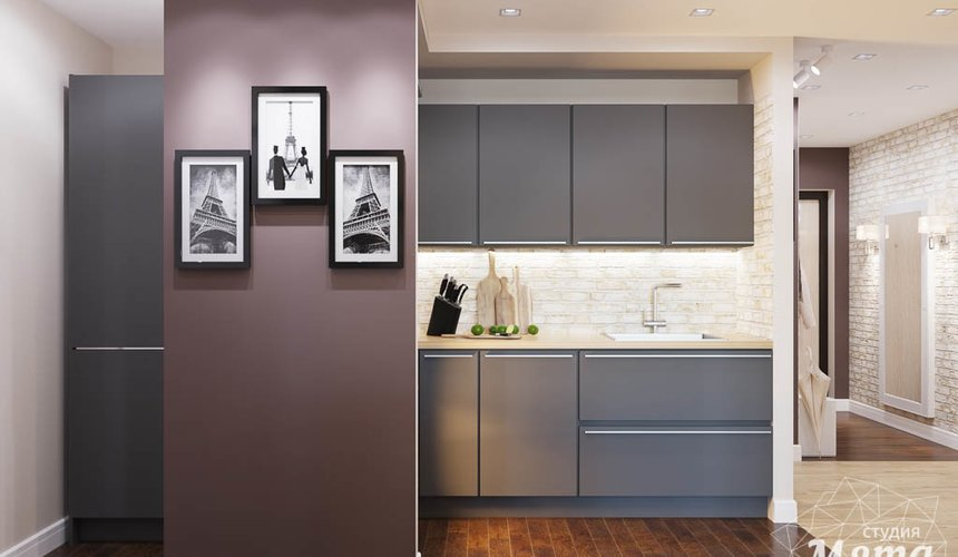 Дизайн интерьера трехкомнатной квартиры по ул. Фурманова 103 6