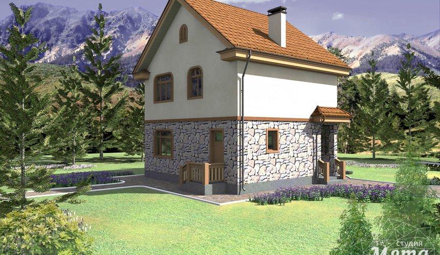 Дизайн фасада частного дома 100м2 в Щелкун 3