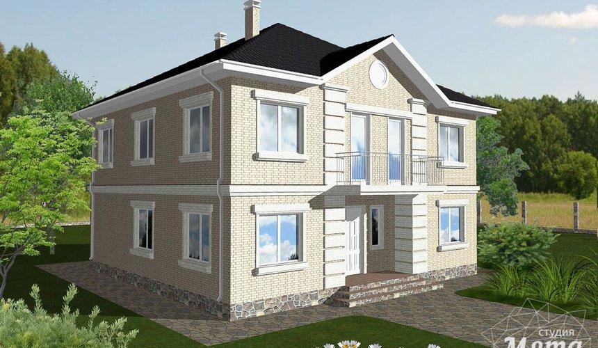 Дизайн проект фасада дома 200 м2 1