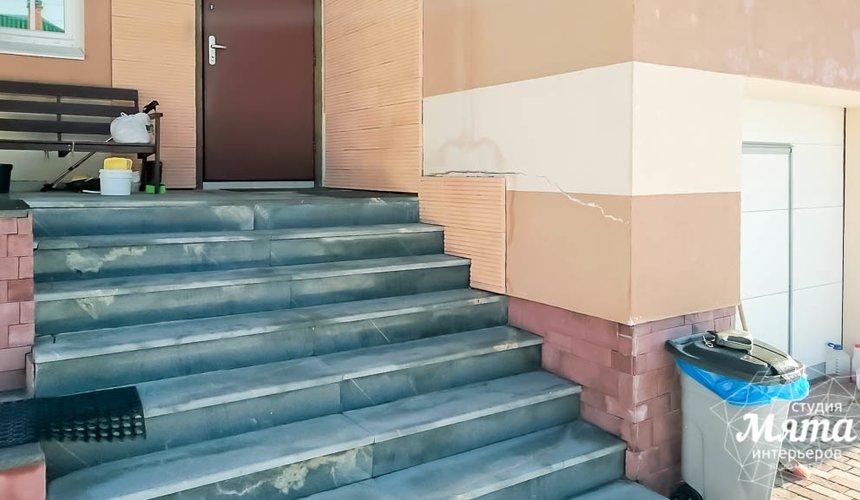 Дизайн проект фасада дома 215 м2 в п. Санаторный 5