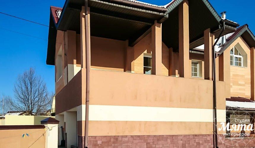 Дизайн проект фасада дома 215 м2 в п. Санаторный 13