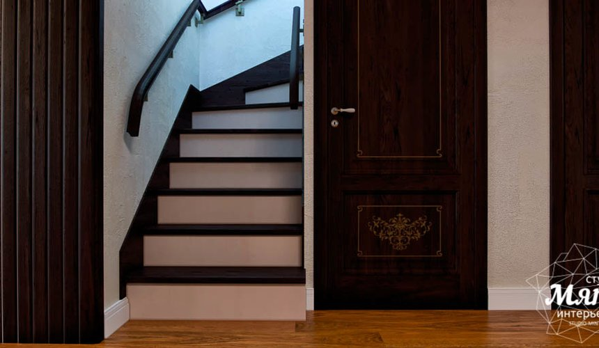 Дизайн интерьера коттеджа в п. Брусника 14