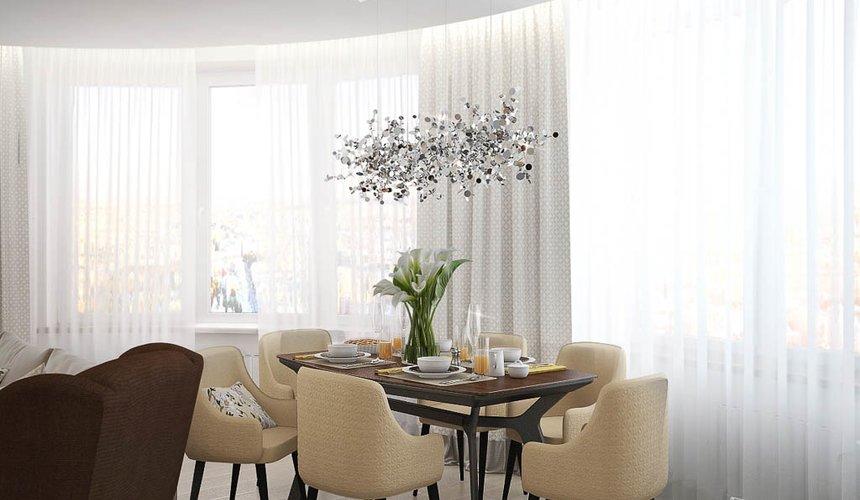 Дизайн интерьера двухкомнатной квартиры в ЖК Чемпион Парк 3