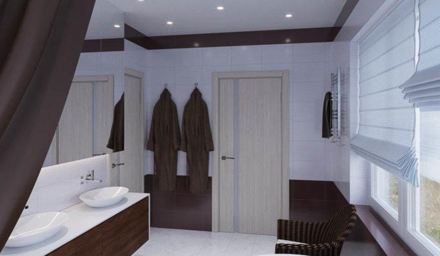 Дизайн интерьера ванных комнат для коттеджа в г. Салехард 2