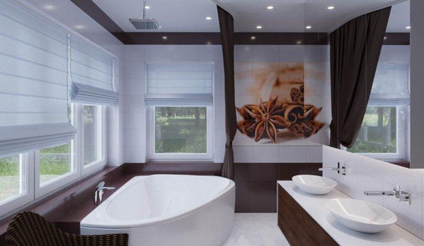 Дизайн интерьера ванных комнат для коттеджа в г. Салехард 3