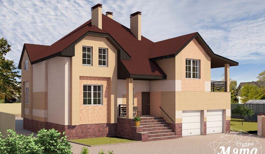 Дизайн проект фасада дома 215 м2 в п. Санаторный 32