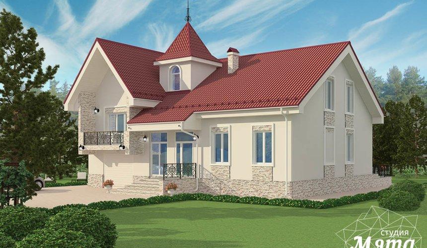 Дизайн фасада коттеджа 195 м2 в г. Екатеринбург 6
