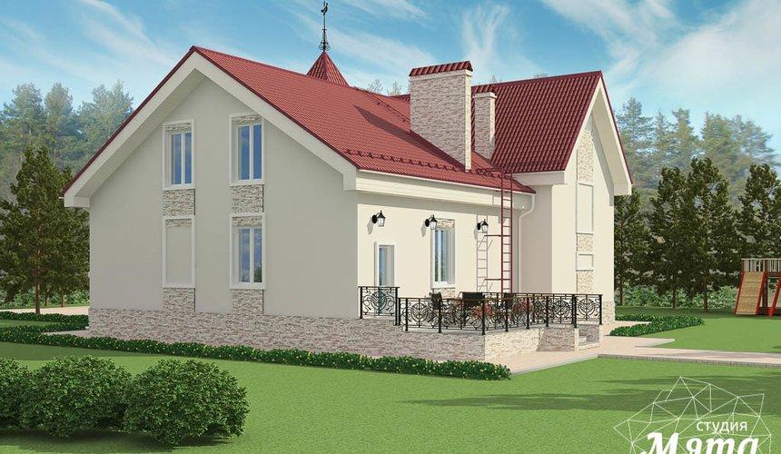 Дизайн фасада коттеджа 195 м2 в г. Екатеринбург 7