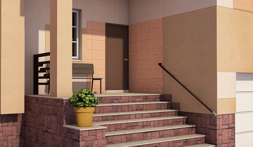 Дизайн проект фасада дома 215 м2 в п. Санаторный 35