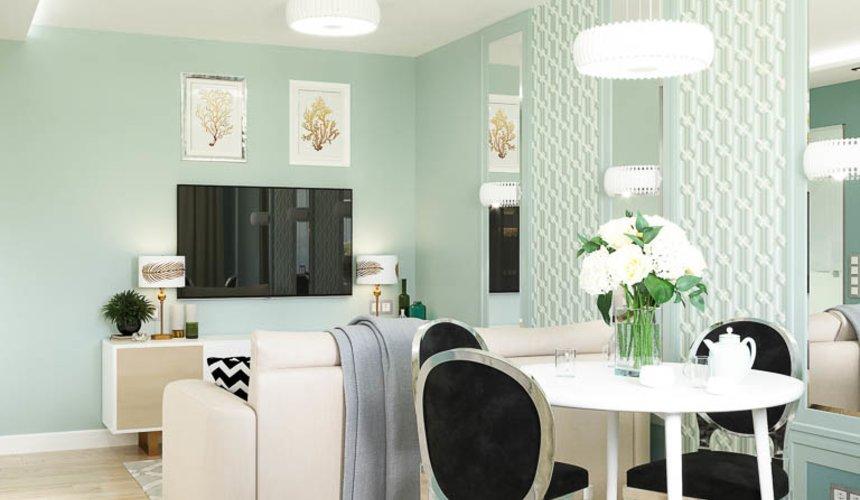 Дизайн интерьера однокомнатной квартиры пер. Встречный д. 5 3