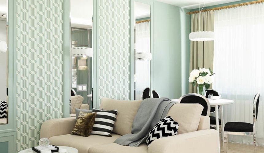 Дизайн интерьера однокомнатной квартиры пер. Встречный д. 5 4