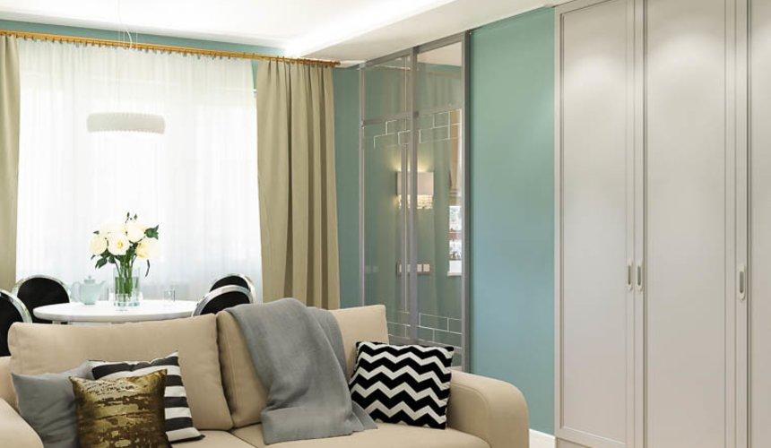 Дизайн интерьера однокомнатной квартиры пер. Встречный д. 5 6