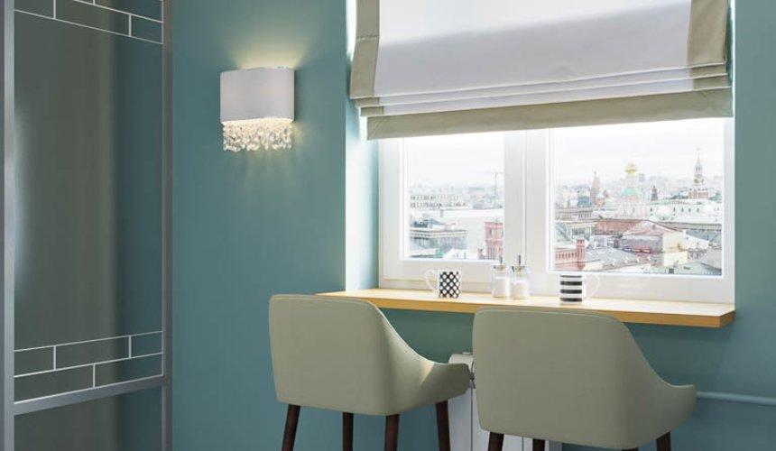 Дизайн интерьера однокомнатной квартиры пер. Встречный д. 5 11