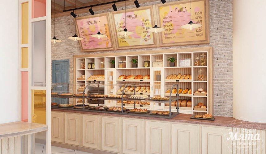 Дизайн интерьера пекарни Сдобная Сказка 4