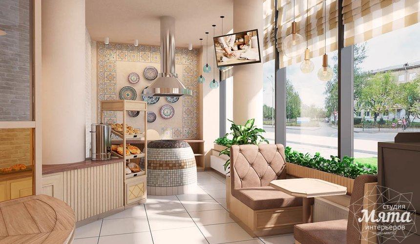 Дизайн интерьера пекарни Сдобная Сказка 5