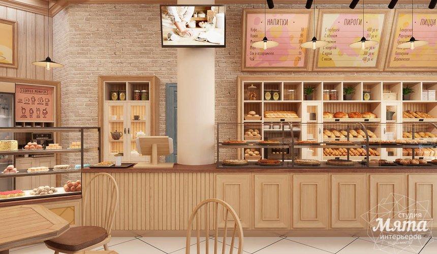 Дизайн интерьера пекарни Сдобная Сказка 8