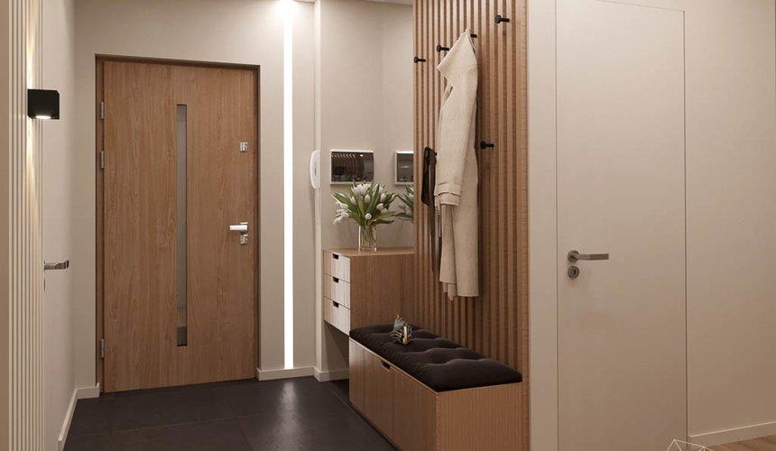 Дизайн интерьера двухкомнатной квартиры в ЖК Расточная 10