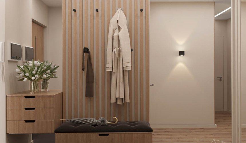 Дизайн интерьера двухкомнатной квартиры в ЖК Расточная 8